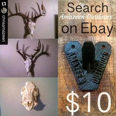 Something we liked from Instagram! #Repost @chrisamazeen with @repostapp.  Get your 3D printed european skull hanger today. Search Amazeen Outdoors on Ebay. $10 shipped.  Please like and share!!! #michigan #usa #euroskull #europeanskullmount #mount #hanger #3dprinter #3d #printing #diy #homemade #amazeenoutdoors #ebay #inexpensive #showoff #display #deer #antlers #hog #boar #skull #getyours #buy #tryitout #makeithappen #respect #ohio #thanks #whitetail by britt_terry check us out…