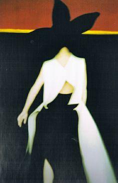Yamamoto .  1996 Spring/Summer. Photo by Sarah Moon.