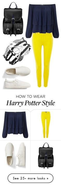 """""""Untitled #729"""" by emmalineavery on Polyvore featuring Lauren Ralph Lauren, Miss Selfridge, Aspinal of London and Gap"""