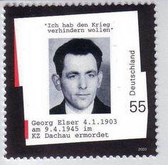 ALMAN VATANSEVER GEORG ELSER'İ ANIYORUZ 8 Kasım 1939'da Hitler'e başarısız bir suikast girişiminde bulunan Alman vatansever Georg Elser bundan tam 70 yıl önce 9 Nisan 1945'te infaz edildi. Georg Elser hiçbir siyasi bağlantısı olmayan basit bir Alman vatandaşı ancak yetenekli bir marangozdu.  https://www.facebook.com/gencturklerizbiz  #gundem #siyaset #politika #haber #yeni #alman #vatandas