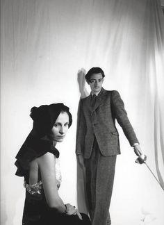 Salvador and Gala Dali, 1936 beaton