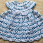 Baby's Shelled Crochet Dress Pattern