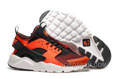 eb497453e53a4 Nike Dámské - Horky Nike Air Huarache Dámské Běžecké Boty Černá Oranžový  0345 Nike Air Huarache