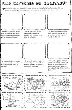 Imágen extraída de Picaporte 1 Ed. Santillana    La figura del General San Martín se muestra ante nosotros como un perfil señero en actitu... Bullet Journal, Teaching, Education, School, Crabs, Mayo, Classroom, Tips, Design