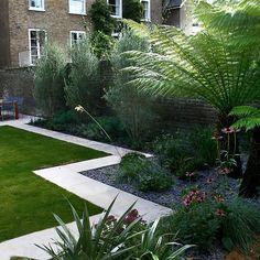 Modern Family Garden Battersea London