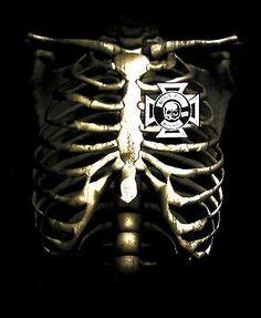 BLACK LABEL SOCIETY cd lgo SKELETAL RIB CAGE Official SHIRT XXL 2X New SDMF