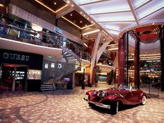 A grand entrance onboard Allure of the Seas. #cruise