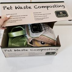 Pets have a substantial environmental impact. Pick up their waste and compost to do your part to protect our water and planet. Eco Friendly Pet Waste Composting with EnsoPet Eco Friendly Cleaning Products, Eco Products, Living Products, Innovative Products, No Waste, Reduce Waste, Reduce Reuse Recycle, Sustainable Living, Sustainable Design
