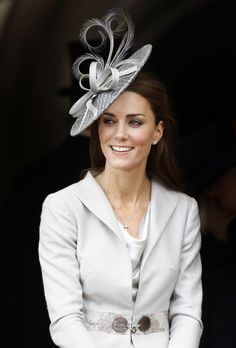 styleite:    Kate's hats just keep getting better and better and better.