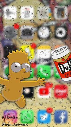Bart Simpsons na tela de um IPhone criado por @Italoo_Santooos e @jhloreilhe Iphone Wallpaper App, Halloween Wallpaper Iphone, Simpson Wallpaper Iphone, Lock Screen Wallpaper Iphone, Mood Wallpaper, Apple Wallpaper, Galaxy Wallpaper, Cellphone Wallpaper, Aesthetic Iphone Wallpaper
