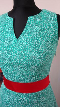šaty pouzdrové potisk krajka na míru - handmade - just make a wish :) - quilting treasures - amazing lace