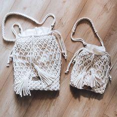 "Polubienia: 116, komentarze: 2 – Justyna Broźna I BOHO handmade (@bloomart.handmade) na Instagramie: ""Torebka dla mamy i córki ❤️  ___________________________ #bloomarthandmade #mamaicorka…"" Crochet Earrings, Boho, Jewelry, Fashion, Moda, Jewels, Fashion Styles, Schmuck, Jewerly"