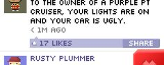 Check out this funny BitBook post from Tiny Tower Vegas!