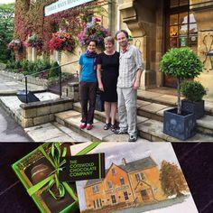 A great hospitality! Thanks Christine! Thanks Jill! We'll return a friday for pudding!  #ThreewaysHouse #fermataUK #travel #presstrip #tophotel #Cotswold