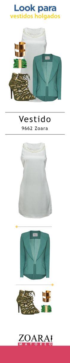 Vestidos cortos y holgados, tendencia ochentera. #Zoara #outfitoftheday #dresses #whitedress
