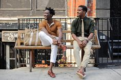 "NY Times presents ""Pushing the Boundaries of Black Style"" with Street Etiquette Live Fashion, Star Fashion, New Fashion, Brooklyn Style, Solange Knowles, Street Culture, Street Look, Sharp Dressed Man, Black Boys"