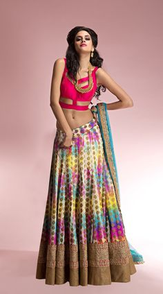 b44c57f05a1 Cotton Semi-Stitched Lehenga Choli   outfits semistitchedlehengacholi indianwear womensoutfits Cotton Lehenga