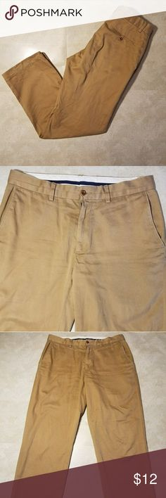 """Polo by Ralph Lauren Khaki Pants ~Polo by Ralph Lauren Khaki Pants  ~Gently Used   In Good Condition   Pants have been Tailored  ~ Size: 39 W ~Measurements: Waist: 23"""" (Laid flat then doubled)   Length: 32 1/2""""   Inseam: 23""""  *All Measurements are approximate* ~Feel free to ask Questions~ Polo by Ralph Lauren Pants Chinos & Khakis"""