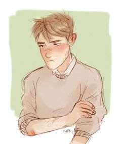 Anonymous said: Remus Lupin with for that expression thingy with arms™ :)) Answer: Pretty Art, Cute Art, Slytherin And Hufflepuff, Remus Lupin, Harry Potter Characters, Boy Art, Character Design Inspiration, Aesthetic Art, Poses
