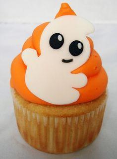 Photo Le cupcake fantôme - Food : 40 idées pour Halloween - Lifestyle - Be.com