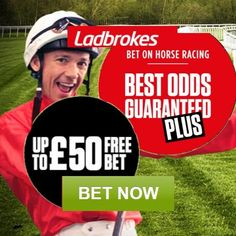 Ladbrokes Sport Promotion Codes August 2016 for a £50 Horse Racing Bet + Boost…