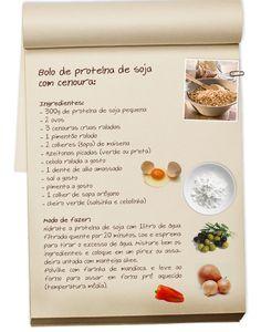 BOLO DE SOJA E CENOURA:-Soja, pequena no tamanho e grande nos benefícios- Cenoura é cumprida, mas não tão cumprida quanto a língua do povo; aprenda a fazer bolo de soja com cenoura