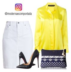 """""""Moda Evangélica"""" by gessilene-mee on Polyvore featuring moda, Barbour, Alexandre Vauthier, Christian Louboutin e Roxy"""