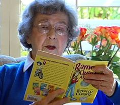 Beverly Cleary <3<3 She made my childhood better.