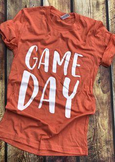 66662b78 Orange Game Day Shirt, Miami, Florida, Orange Football Shirt, Tennessee  Football, Clemson Shirt, Foo