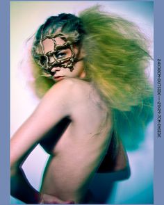 NUDE HAIR by Laura Slizkova Halloween Face Makeup, Hair, Barber Salon