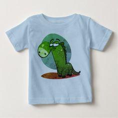 cute dino kid funny cartoon baby T-Shirt - kids kid child gift idea diy personalize design