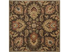 Shop for Surya Rugs Caesar 6' Rug, CAE1028-6SQ, and other Floor Coverings Rugs at Walter E. Smithe in 11 Chicagoland locations in Illinois and Merrillville, Indiana. Surya's best selling creations have been infused with possibilities as the Caesar collection takes on new life. Designer color combinations including deep browns, charcoal gray, and muted red make these time-honored pieces suitable for any interior.