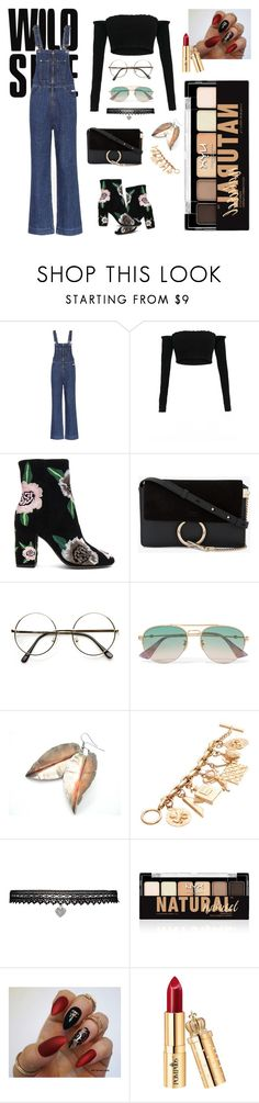 """""""Something New"""" by jovankadellapane26 ❤ liked on Polyvore featuring AlexaChung, Rebecca Minkoff, Chloé, Gucci, Chanel, Betsey Johnson and NYX"""