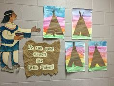 Thanksgiving Art Lessons For Kindergarten - Image Upload Services Native American Lessons, Native American Teepee, Native American Crafts, Kindergarten Art Lessons, Art Lessons Elementary, Lessons For Kids, Thanksgiving Art Projects, Thanksgiving Kindergarten Art, Art Lesson Plans