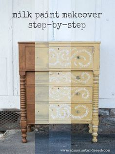 Step by step Miss Mustard Seed's Milk Paint