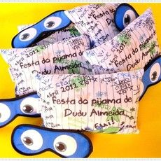Kit Festa do pijama Máscara e Naninha Teen menino
