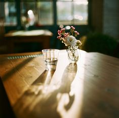 The late afternoon sun cast shadows across the table and the scent of domestic beauty filled the home...