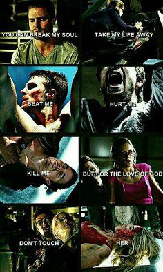 I should probably make an Arrow board just for thea ! I feel like this should be for thea too ! Oliver Y Felicity, Arrow Oliver, Arrow Felicity, Felicity Smoak, Superhero Shows, Superhero Memes, Arrow Cw, Team Arrow, The Flash