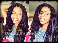 How To Install Faux Loc Extentions In Under 5 Hours Read the article here - http://www.blackhairinformation.com/general-articles/hairstyles-general-articles/install-faux-loc-extentions-5-hours/ #fauxlocs