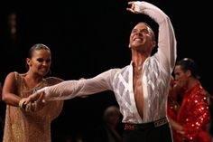 Andrey Zaytsev Andrey Zaytsev and Anna Kuzminskaya of Russia compete during the final of the World Dance Sport Championship Latin