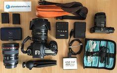 Das ist meine kleine und feine #Fotoausrüstung für den Amazonas.
