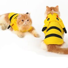 Cup Dog Clothe Pet Cute Pokemon Pikachu Halloween Costumes Coat Winter Puppy Cat #Unbranded