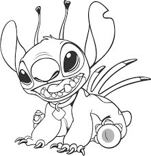 lilo stitch coloring pages - Google Search