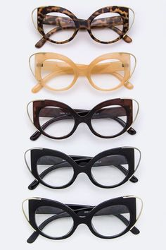 Proverbs Woman Clear Cat Eye Eyewear www.theartofavis.com