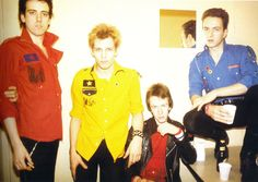 """""""We'd do stuff like put the shirt pockets on the wrong side. It was based on all the Lawrence Corner stuff, because that's where I used to do my shopping. We didn't have a shop like the Pistols had. So necessity became the mother of invention, as they say. The bright colours thing was like the name 'Clash'- a clash of colours."""" -Paul"""