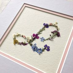 Letter L, using real pressed flowers, genuine silver leaf and gemstones: Handmade Personalised Letter, Custom Initial, birthday gift Flower Crafts, Diy Flowers, Fleurs Diy, Flower Letters, Pressed Flower Art, Silk Flower Arrangements, Nature Crafts, Birthday Gifts, Lettering