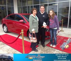 #HappyAnniversary to Katie Chester on your 2014 #Chevrolet #Cruze from Phillip Burnette at Crossroads Chevrolet Cadillac!