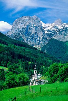 Ramsau, Bavaria, Germany. When you discover your ancient ancestors come from nobility, it changes everything you thought about your heritage. I have found that I come from French, German Bavarian, Irish, Scot's, British, Norwegian, Italian,and Danish bloodlines due to their marrying outside their homelands for political gain. Very cool.