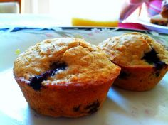 My blueberry oatmeal muffin recipe