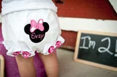 Minnie Mouse BloomersPersonalized by TuTooCuteTutus on Etsy